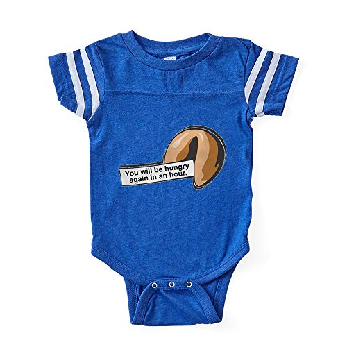 CafePress Fortune Cookie Cute Infant Baby Football Bodysuit -