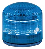 Federal Signal SLM600B StreamLine Modular Combination LED/Sounder, Blue, Required Base Sold Separately, Polycarbonate