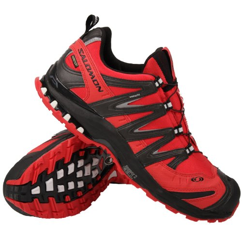 shoes for cheap first look sneakers Salomon XA Pro 3D Ultra 2 GTX Bright Rouge Noir Cane 48 ...