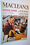 img - for Maclean's - Canada's National Magazine, October 15, 1966 - Gordie Howe Cover Photo book / textbook / text book