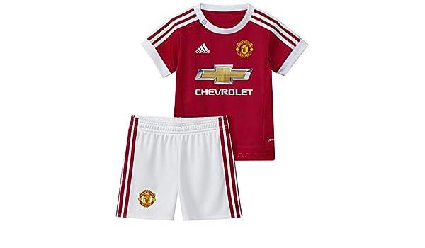 adidas MUFC H Baby - Chándal Infantil, Color Rojo/Blanco, Talla 68 ...