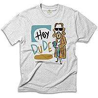 Camiseta Música Cool Tees Quadrinhos Caco Galhardo Hey Dude