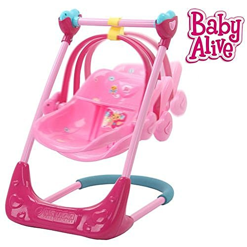 Baby Alive Swing High Chair And Car Seat 3in1  bo Ap B01DFGQLWG on baby alive car seat
