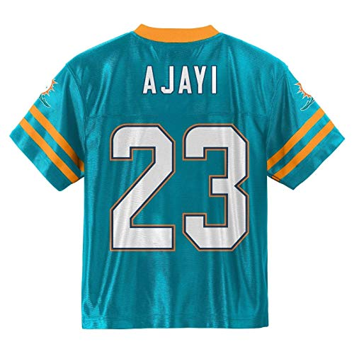 Outerstuff Jay Ajayi Miami Dolphins #23 Aqua Boys Home Player Jersey (X-Small 4/5)