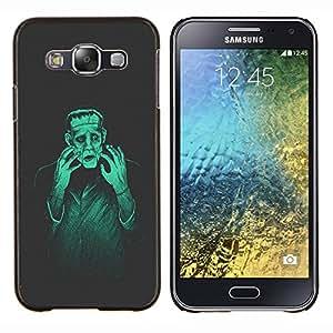 """Be-Star Único Patrón Plástico Duro Fundas Cover Cubre Hard Case Cover Para Samsung Galaxy E5 / SM-E500 ( Hombre Monster Creación Mad Genius Arte Ai Robot"""" )"""