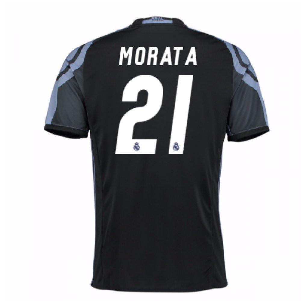 2016-17 Real Madrid 3rd Football Soccer T-Shirt Trikot (Alvaro Morata 21) - Kids