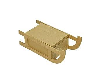 Trineo de Navidad de papel maché cajas para decorar - elección de tamaño Medium: Amazon.es: Hogar