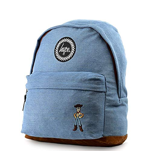 Woody Hype Blue Brown Backpack Disney OwwB45