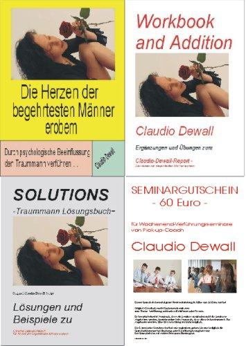 Männer erobern durch psychologische Manipulation - Das 4-teilige Masterset von Pickup-Coach Claudio Dewall (Durch psychologische Beeinflussung den Traummann verführen)