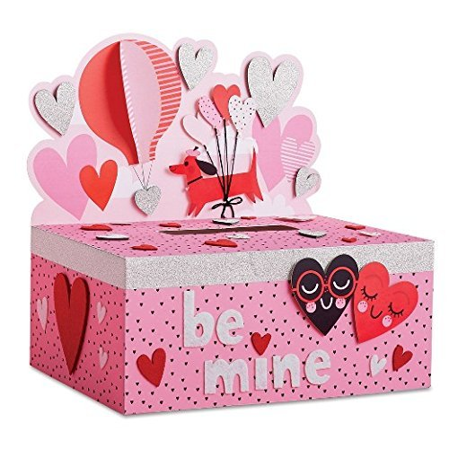 Valentines Day Mailbox Decorating Kit Hearts