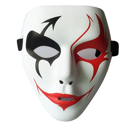 Mascara de Hombre para Halloween Fiesta de Disfraces Elastic Máscara Careta Fiesta