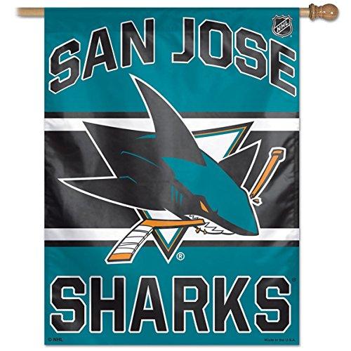 (Wincraft San Jose Sharks Banner Flag)