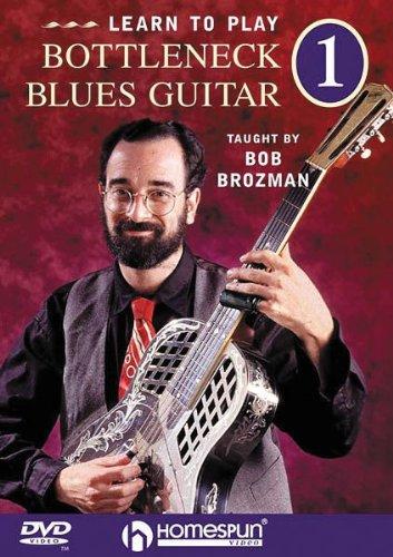 DVD : Bob Brozman - Learn To Play Bottleneck Blues Guitar, Vol. 1 (DVD)