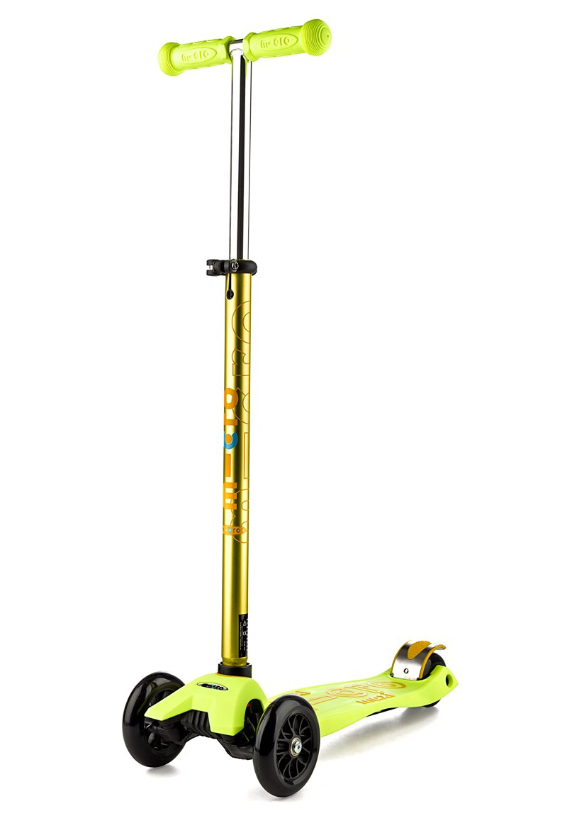 Micro Maxi Deluxe Scooter - Yellow