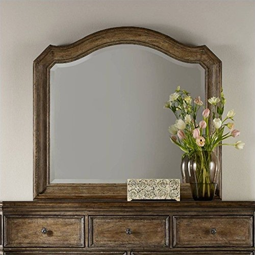Hooker Furniture Solana Mirror in Light Oak