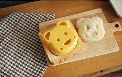 CDKJ Molde de Pan con Forma de Oso Molde Creativo de Sándwich: Amazon.es: Hogar