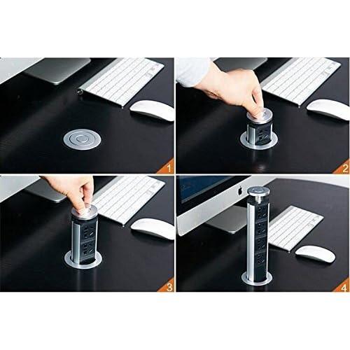 Pulling Pop-up Outlets Desktop Kitchen Island Countertop ...