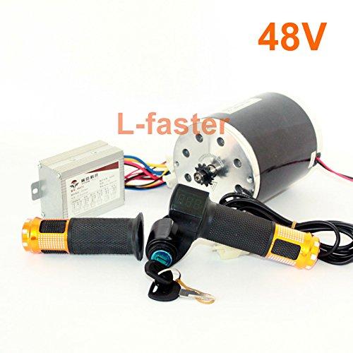 36v48v 500ワット電動高速モーターキット電動スクーターunitemotor変換キットe300s mx350交換モーターアップグレードセット [並行輸入品] B078L28L64 48V upgrade kit 48V upgrade kit