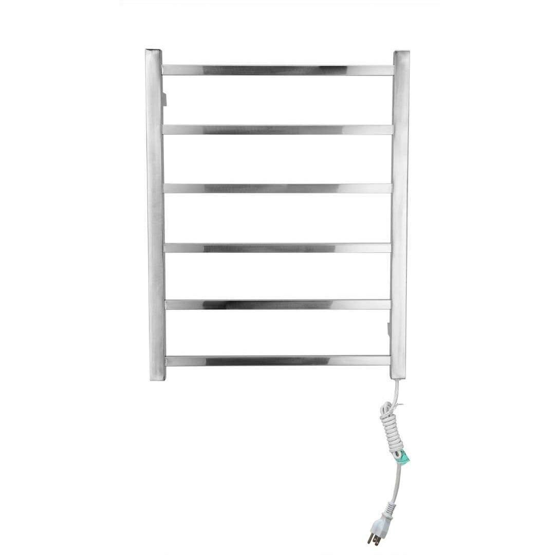 OUKU Lightinthebox Novelty Design Towel Warmmer 60W Wall Mount Stainless Steel Polished Finish Circular Tube Drying Rack Lavatory Home Decor Bath Shower Improvement S03313710000309#DHL#wh=