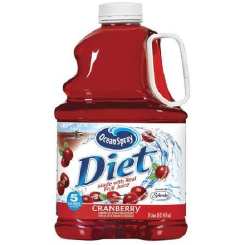 (Ocean Spray Diet Cranberry Juice Drink, 101.4 Ounce (Pack of 6), Packaging May Vary)