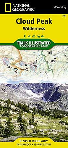 (Cloud Peak Wilderness (National Geographic Trails Illustrated Map))