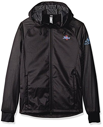 NCAA Grand Valley State Lakers Adult Women Team Logo Climastorm Full Zip Jacket, Large, Black