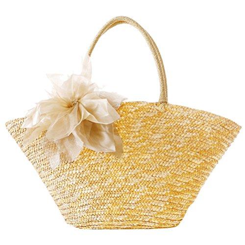 Bags Silk Flowers Womens Woven ventes Korean Quality Pastoral Beige Hot High Zhuhaitf Casual Garden Style qvZOqa