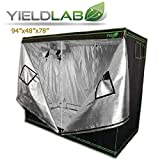 Yield Lab Two Door 96x48x78 Reflective Grow Tent Review