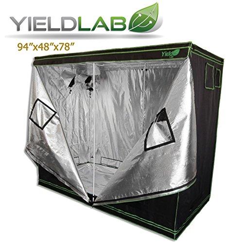Yield Lab Two Door 96x48x78 Reflective Grow Tent