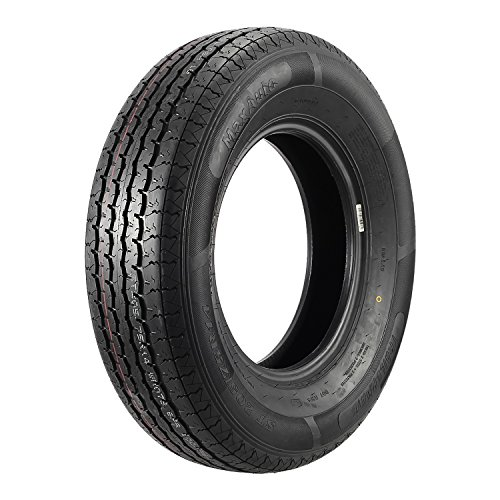 ST205/75R14 Load Range D MaxAuto Radial Trailer Tires ST205/75R-14 8Ply(Pack of 2) by MaxAuto (Image #1)