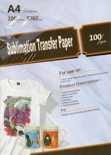 Sublimation transfer Inkjet Paper 8.3