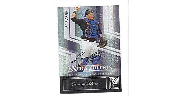 FRANCISCO PENA 2007 Donruss Elite Extra Edition #21 SIGNATURE Turn of the Century PARALLEL AUTOGRAPH RC Rookie Card Numbered to only 396 Made!