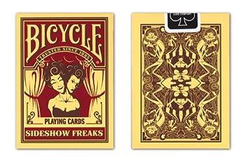 Bicicleta Sideshow Freaks Juego de Cartas: Amazon.es ...