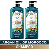 Herbal Essences, Repairing Argan Oil Of Morocco Shampoo With Natural Source Ingredients, Color Safe, BioRenew, 20.2 fl oz, Twin Pack