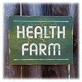 Health Farm Sign vintage style spa sign