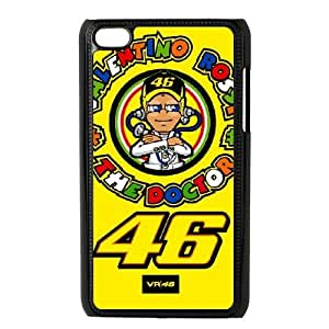Ipod Touch 4 Phone Case Black Valentino Rossi AZ7294134