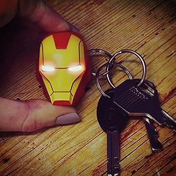 Iron Man llavero con luz - Avengers Iron Man llavero llavero ...