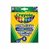 Crayola 8 Large Washable Crayons