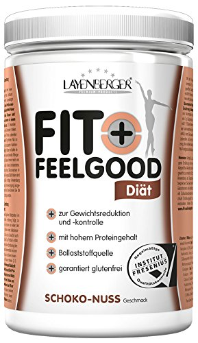 Layenberger Fit + Feelgood Schlankdiät Schoko-Nuss, 1er Pack (1 x 430 g)