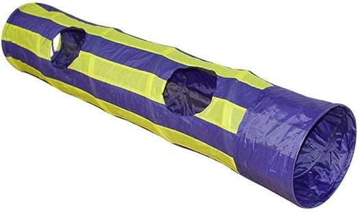 Túneles Para Gatos Artículos Para Gatos Tubos Y Túneles Para Animales Pequeños Túnel Para Mascotas Gato Jugar Túnel Plegable 2 Agujeros 130Cm Túnel Para Gatos Jugar Sonido Arrugado Juguete Par: Amazon.es: Productos