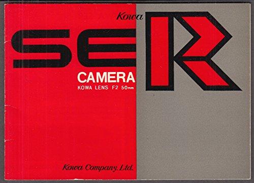 Camera Owners Manual - Kowa SER SLR 35mm Camera Owner's Manual 1965-70