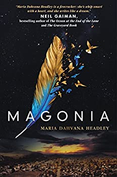 Magonia by Maria Dahvana Headley fantasy book reviews young adult