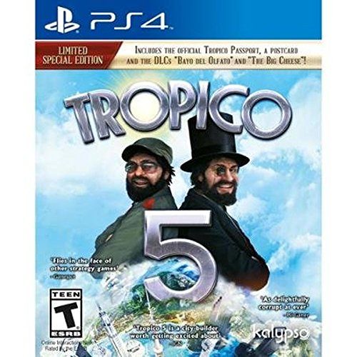 Tropico 5 (PS4) – PlayStation 4 Limited Special Edition