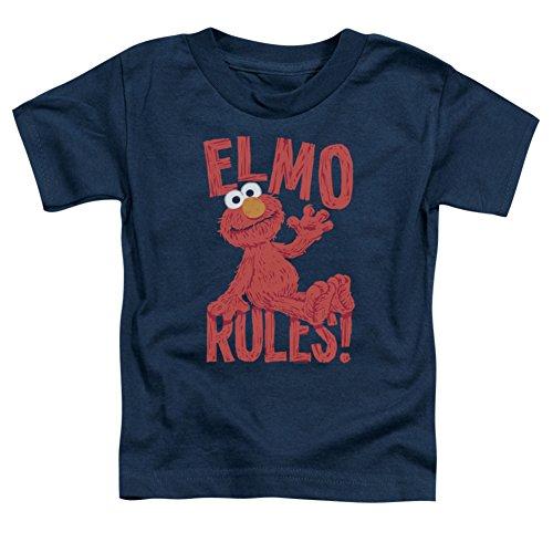 Toddler: Sesame Street- Elmo Rules Baby T-Shirt Size 3T
