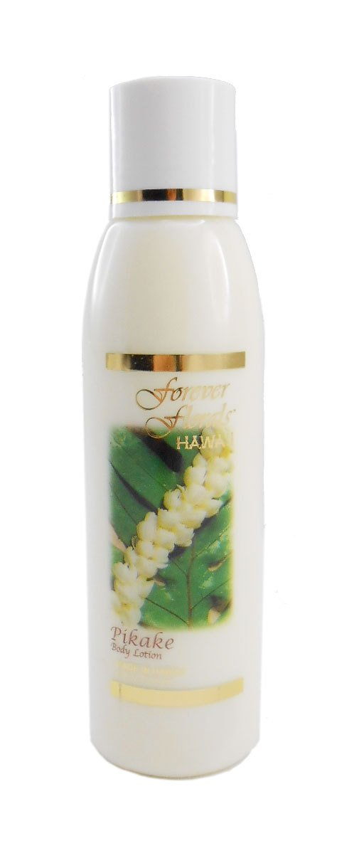 Pikake Jasmine Body Lotion 1 bottle 4oz Each Forever Florals Hawaii 1 Tube of Noni Coco Mango Conditioning Shampoo 1 Bar of Noni Maile Lavender Face & Body Soap
