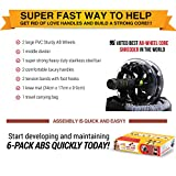 Perfect-Ab-Roller-Workout-Wheel-AB-WOW-Abs-Trainer-Abdominal-Exercise-Equipment-with-Bonuses-Supports-up-to-500-lbs