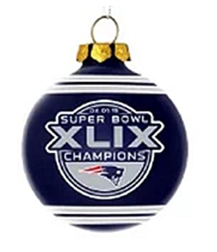 Amazon.com : NFL New England Patriots Super Bowl XLIX Champions ...