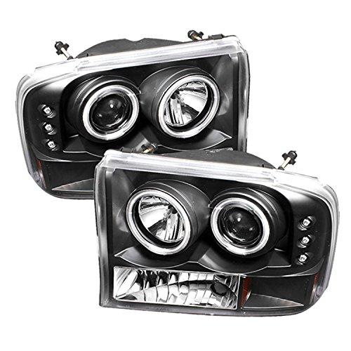 Spyder Auto Ford F250/F350 Super Duty/Ford Excursion Black CCFL LED Projector Headlight Ccfl Led Projector Headlights