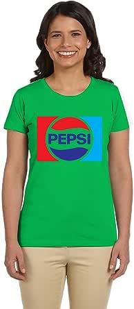 PTB W-NK235 Green T-Shirts Printed Short Sleeve For Women