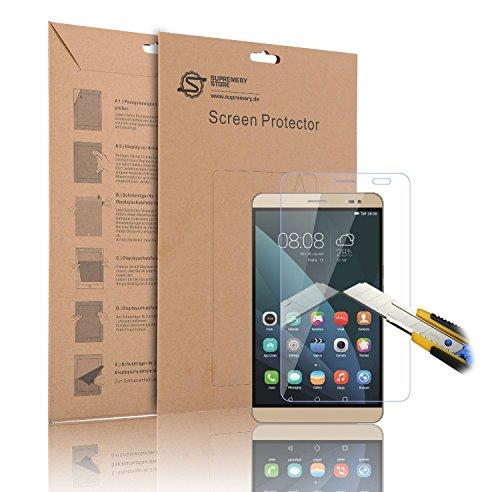 Supremery Huawei Mediapad X2 Glas Folie Schutzfolie aus echtem Glas Panzerglas für Huawei Mediapad X2 - Härte 9H, 0.3mm, Round Edge